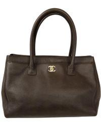 Chanel - Executive Leather Handbag - Lyst