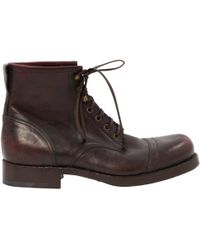 Belstaff - Leather Boots - Lyst