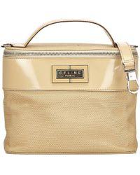 Céline - Vintage Brown Polyester Travel Bag - Lyst