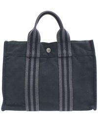 Hermès - Toto Cloth Tote - Lyst