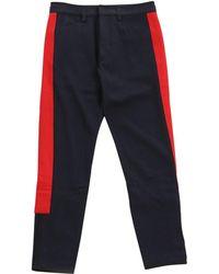 Dries Van Noten - Navy Wool - Lyst