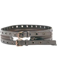 Céline - Pre-owned Leather Belt - Lyst