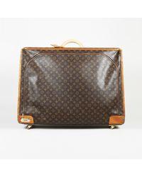 39c8f677b153 Lyst - Louis Vuitton  55  Travel Bag in Brown