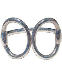 Hermès - Nausicaa Other Silver Bracelets - Lyst