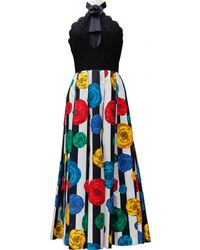 Chanel - Vintage Multicolor Cotton Dress - Lyst