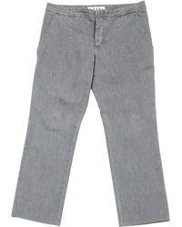 Marni - Pre-owned Straight Jeans - Lyst