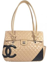 4a3813a611e7 Chanel - Pre-owned Vintage Cambon Multicolour Leather Handbags - Lyst
