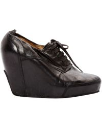 Dries Van Noten - Leather Ankle Boots - Lyst