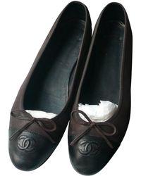 ea50a9246e8 Lyst - Ballerines Chanel femme à partir de 150 €