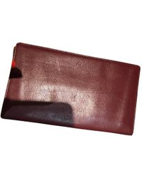 Cartier - Other Leather Small Bag, Wallets & Cases - Lyst