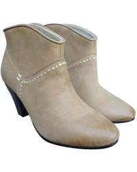 Maje - Pre-owned Ankle Boots, Olivette Model, Size 37, New - Lyst