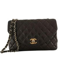 Chanel - Mademoiselle Leather Crossbody Bag - Lyst