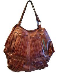 CoSTUME NATIONAL - Brown Leather Handbag - Lyst