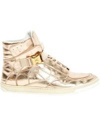 Louis Vuitton - Pre-owned Leather Trainers - Lyst