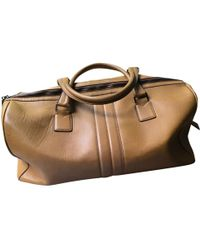 Tod's - Leather Weekend Bag - Lyst