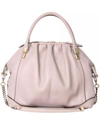 Nina Ricci - Pre-owned Pink Leather Handbags - Lyst