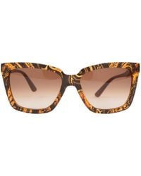 Etro - Pre-owned Brown Plastic Sunglasses - Lyst
