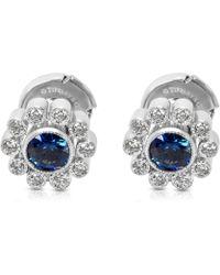 3d0366ebb Tiffany & Co. - Pre-owned Platinum Earrings - Lyst