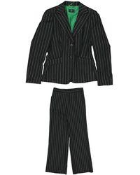 Etro Salopette in lana multicolore - Nero