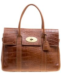 Mulberry Bayswater Brown Leather