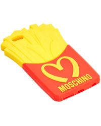 Moschino - Red Plastic Purses, Wallets & Cases - Lyst