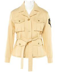 Emilio Pucci - Pre-owned Yellow Cotton Jackets - Lyst