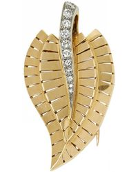 Van Cleef & Arpels - Pre-owned Yellow Gold Pin & Brooche - Lyst