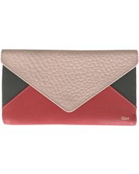 Chloé - Pre-owned Leather Wallet - Lyst