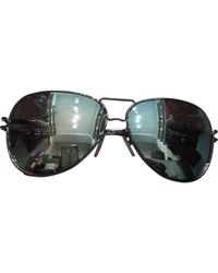 Roland Mouret - Pre-owned Silver Metal Sunglasses - Lyst