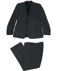 Dior - Anthracite Wool Suits - Lyst
