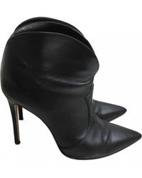 Gianvito Rossi - Leather Western Boots - Lyst
