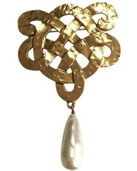 Chanel - Pre-owned Pin & Brooche - Lyst