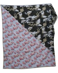 Givenchy - Multicolour Cotton Scarf - Lyst
