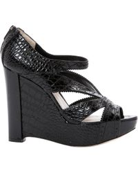 Dior - Pre-owned Crocodile Sandals - Lyst