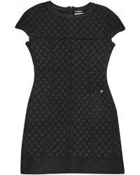 Chanel - Wool Mini Dress - Lyst