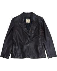 Hermès - Veste courte en cuir - Lyst