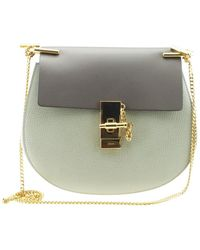 Chloé - Drew Green Leather Handbag - Lyst