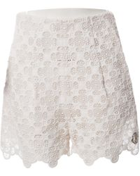 Moncler - White Cotton Shorts - Lyst