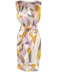 Emilio Pucci - Pre-owned Multicolour Silk Dresses - Lyst