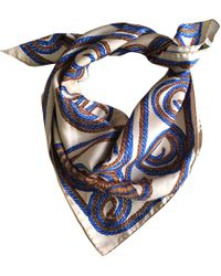 Nina Ricci Other Silk Silk Handkerchief - Blue