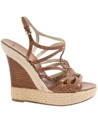 Etro - Pre-owned Leather Sandals - Lyst