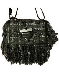 Loewe - Barcelona Black Leather Handbag - Lyst