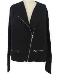 Maje - Black Viscose Knitwear - Lyst