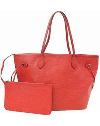 7fbb46e12e95 Lyst - Louis Vuitton N 51107 Neverfull Mmtote Bag White ...