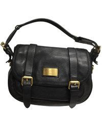 809789fc15ea Marc By Marc Jacobs - Pre-owned Classic Q Black Leather Handbags - Lyst