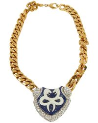 Roberto Cavalli - Pre-owned Necklace - Lyst