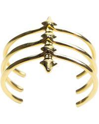 Jennifer Fisher - Pre-owned Gold Metal Bracelets - Lyst