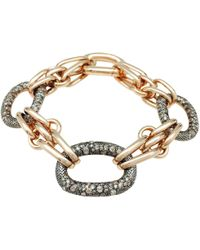 Pomellato - Pre-owned Tango Pink Gold Bracelet - Lyst