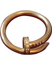 Cartier - Juste Un Clou Pink Gold Ring - Lyst