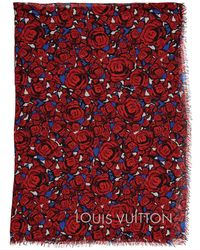 Louis Vuitton - Pre-owned Silk Stole - Lyst